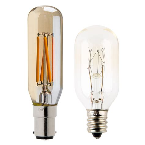 t8 led filament bulb 25 watt equivalent vintage light