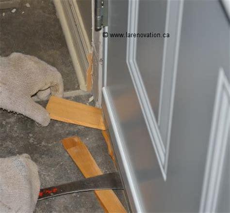 comment isoler une porte d entree comment installer une porte d entr 233 e