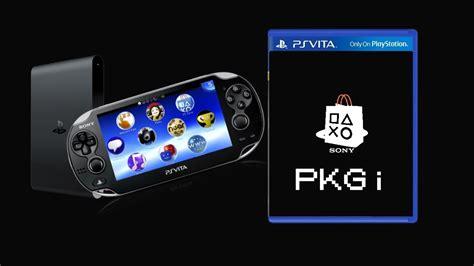 Henkaku Pkgi Install Pkgs Directly To Your Ps Vita