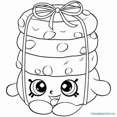 Shopkins Coloring Pages Season Edition Limited Cookie