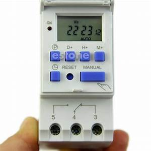 Digital Lcd Programmable Timer Ac 220v 16a Time Control
