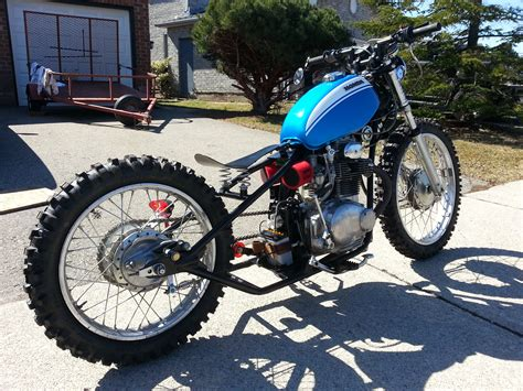honda motocross bike 1971 honda sl350 dirt bike bobber build