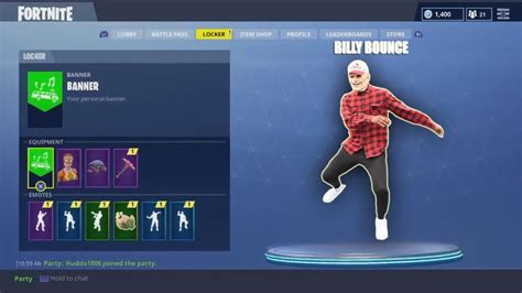 billybounceman  fortnite dances  dance youtube
