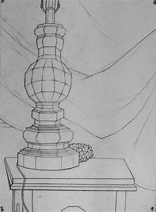 Basic Drawing 1  Planar Still Life Examples