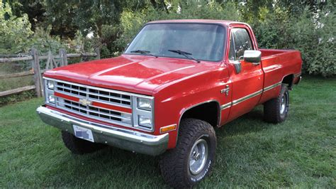 Restored 1987 Chevy 4x4 For Sale  Autos Post