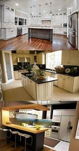 3 great ideas for decorating kitchens with white cabinets With kitchen colors with white cabinets with waste management stickers