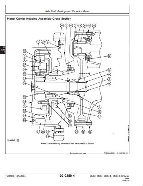 Deere 750c Wiring Diagram by Deere A Repair Manual Store