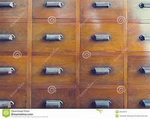 Poignée De Meuble Vintage : meubles en bois de vintage de poign e de tiroir image ~ Dailycaller-alerts.com Idées de Décoration