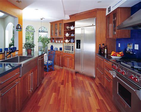 kitchens  dark wood floors pictures