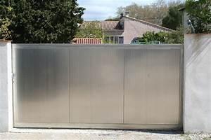Porte de garage blindee silvelox portails et portes de for Porte de garage coulissante jumelé avec porte blindée bois