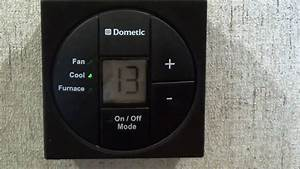How To Use Dometic U0026 39 S Digital Rv Thermostat