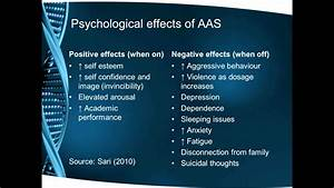 Essc 12003 The Potential Psychological Positive And Negative Effects Of Anabolic Steroid Use