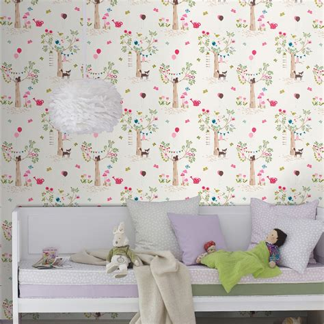 Woodland Animal Wallpaper Uk - woodland animals wallpaper borders bedroom nursery
