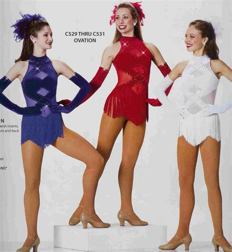 Ovation531 Lyrical Ballet Jazz Tap Competition Dance Costume Pageant Outfit Clog | Competition ...