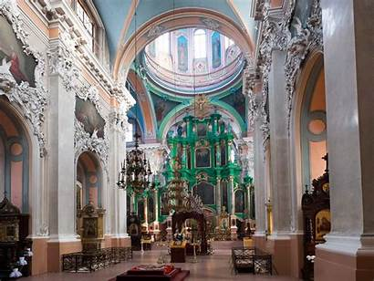 Vilnius Churches Lithuania Another Interiors Hello Definitely