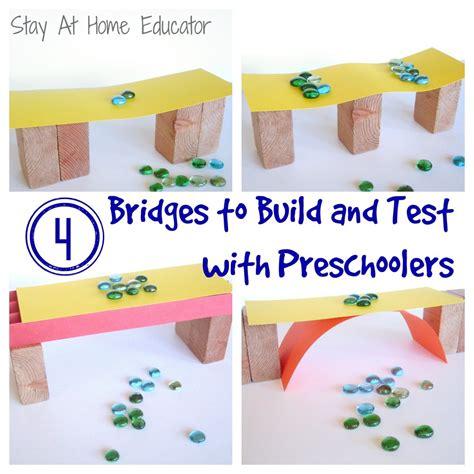 preschool engineering stem series building bridges 323   Bridges Preschool Theme Stay At Home Educator 1000x1000