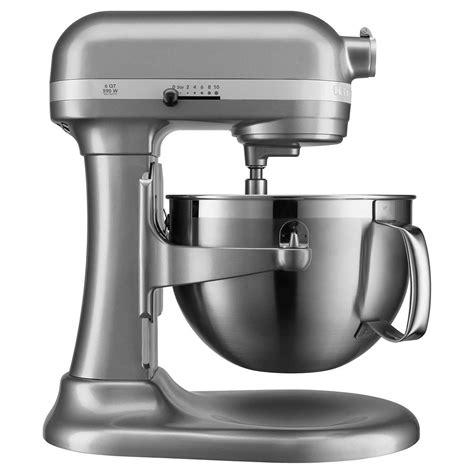 kitchenaid mixer stand silver bowl professional kitchen quart flex lift edge series mixers processors food