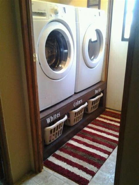 Diy Washer And Dryer Pedestals  Who Said Nothing In Life