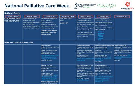 national palliative care week palliative care