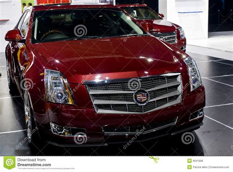 cadillac cts grille mph editorial photo image