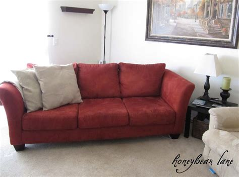 how to make slipcovers for sofa how to make a couch slipcover part 1 honeybear lane