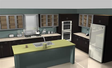 how to install kitchen island cabinets kitchens get the look renee perry desperate