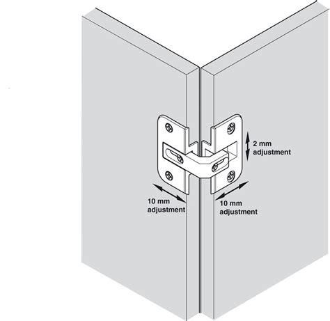 charni鑽e pour meuble de cuisine charnière pour portes pliantes pour porte pliante de meuble d angle jeu 4 18 mm dans la boutique häfele