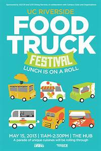 Inside UCR: Food Truck Festival to Roll Through UCR on May 15