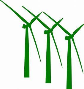 Green Wind Mills Clip Art at Clker.com - vector clip art ...