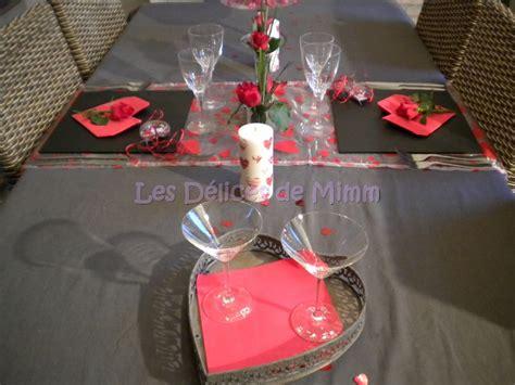 deco de table valentin une table pour la valentin les d 233 lices de mimm