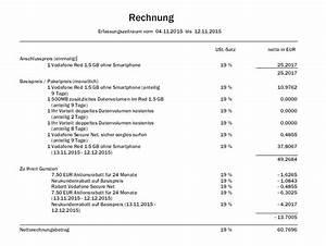 Vodafone Rechnung Drucken : abrechnungszeitraum und zahlungszeitraum vodafone community ~ Themetempest.com Abrechnung