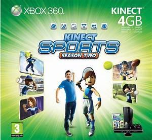 Microsoft Xbox 360 4gb Kinect Bundle Kinect Adventures