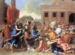 The Rape of the Sabine Women. Image: en.wikipedia.org