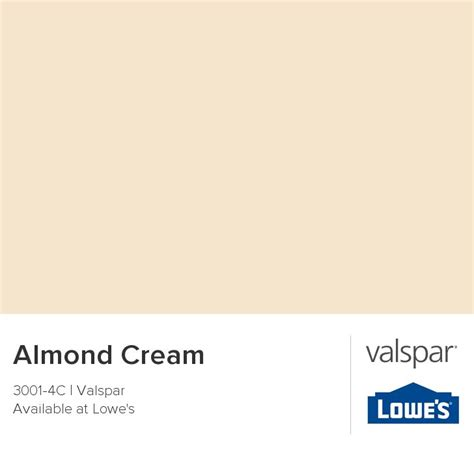 almond from valspar wall color