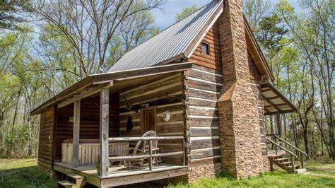 Bear Creek Log Cabins In Fort Payne, Alabama-southern Living