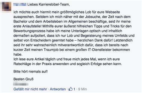 fan feedback zur karrierebibel karrierebibelde