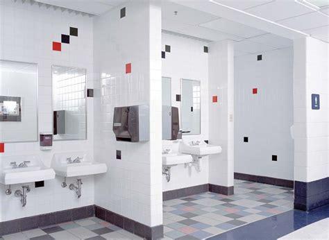 school restroom design  haven middle  elementary