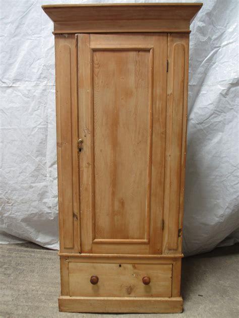 Single Wardrobe by Pine Single Door Wardrobe With Drawer