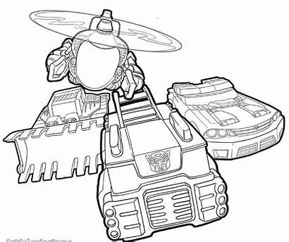 Coloring Rescue Bots Transformers Pages Transformer Printable