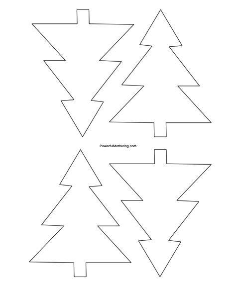 50 Christmas Tree Printable Templates | KittyBabyLove.com