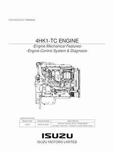 Isuzu 4hf1 Engine Timing Diagram
