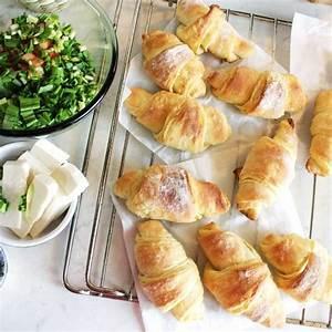 Mini Croissant Apéritif : mini croissants au saumon pour l 39 ap ritif recette ~ Melissatoandfro.com Idées de Décoration