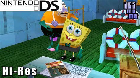 spongebob squarepants  yellow avenger nintendo ds