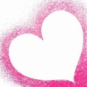 Heart, Frames, Glitter, Pink, Valentines, Love, Freetoedit