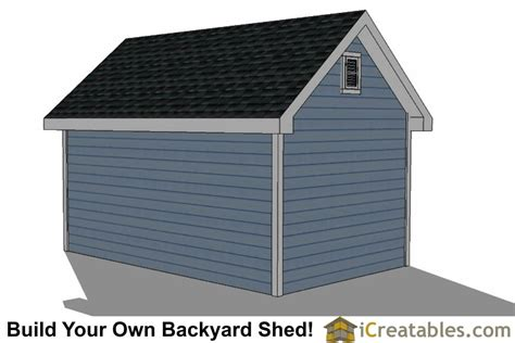 free 10x16 shed plans 10x16 traditional garden shed plans