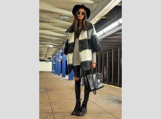 Gizele Oliveira Urban Outfitters Coat, Rag & Bone