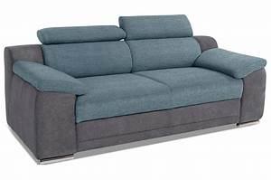 3er Sofa Günstig : 3er sofa blau sofas zum halben preis ~ Indierocktalk.com Haus und Dekorationen