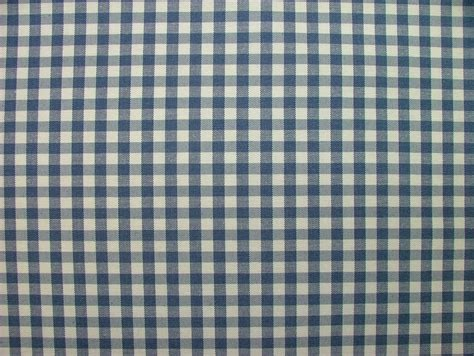 navy blue woven gingham check cotton designer fabric