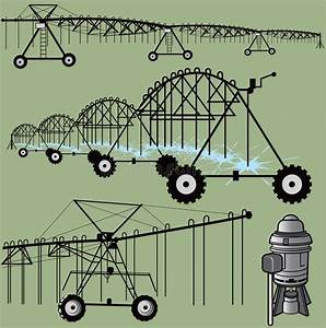 Irrigation Clip Art Stock Photo  Image Of Farming  Outline