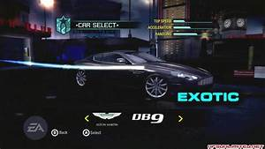OFFICIAL Unofficial Need For Speed: Carbon Car List (56K ...